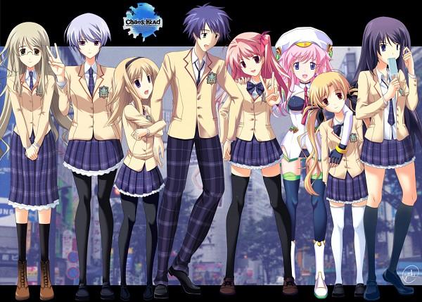 Tags: Anime, Nitro+, ChäoS;HEAd, Nishijou Nanami, Orgel Seira, Orihara Kozue, Nishijou Takumi, Kusunoki Yua, Aoi Sena, Sakihata Rimi, Kishimoto Ayase, Character Request
