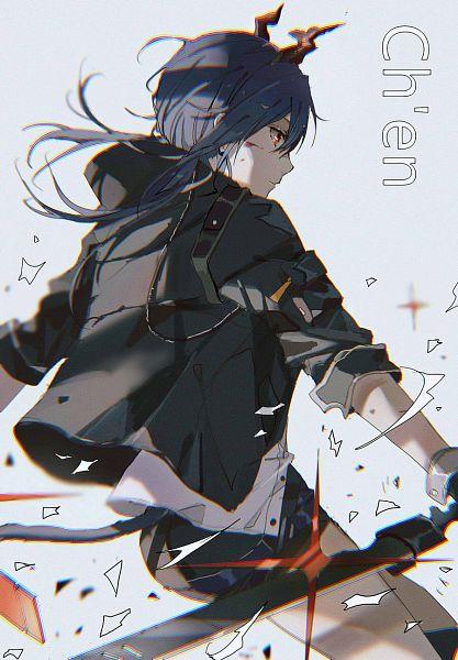Tags: Anime, Lococo:p, Arknights, Ch'en