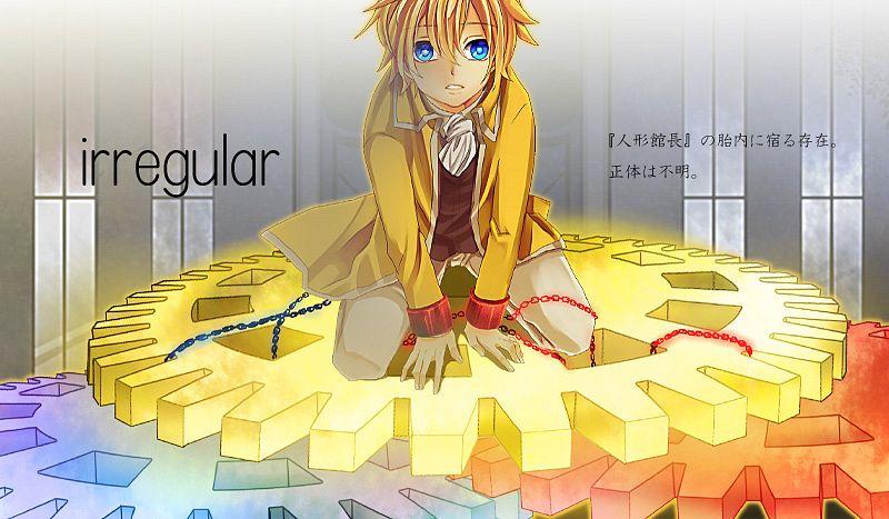 Tags: Anime, Painter Brioche, VOCALOID, Kagamine Len, Shackles, Pixiv, Story of Evil, Akuno-p, Chaban Capriccio