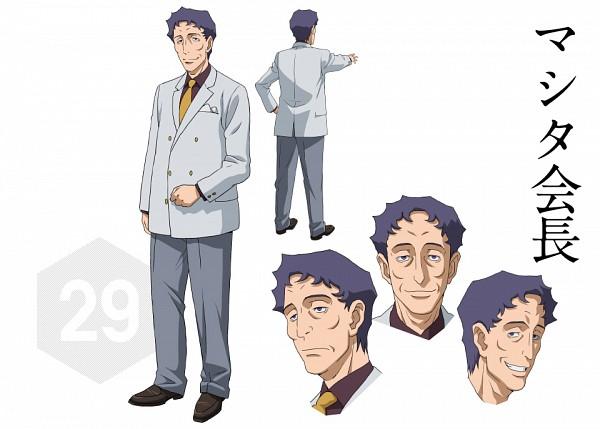 Chairman Mashita - Gundam Build Fighters
