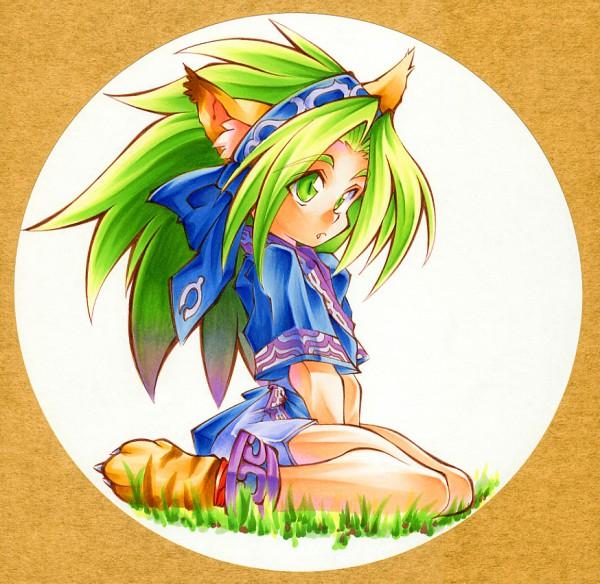 Tags: Anime, SNK Playmore, Samurai Spirits, Chamcham, Rimururu (Cosplay)