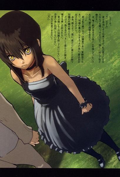 Tags: Anime, Enami Katsumi, Baccano!, Chane Laforet, Novel Illustration, Scan, Official Art, Mobile Wallpaper