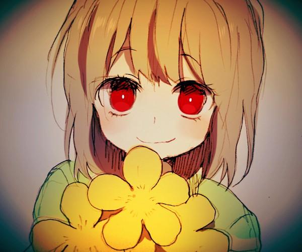 Tags: Anime, Pixiv Id 2039946, Undertale, Chara (Undertale), Fanart From Pixiv, Pixiv, Fanart