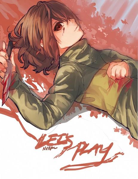 Tags: Anime, Nvaleeln, Undertale, Chara (Undertale), Tumblr, Fanart