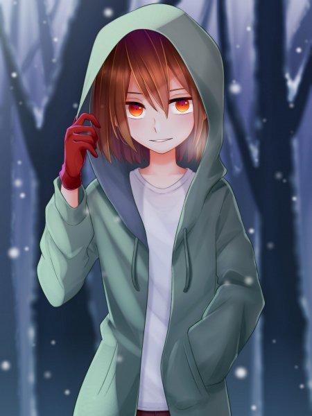 Tags: Anime, Pixiv Id 24070692, Undertale, Chara (Undertale), Pixiv, Fanart, Fanart From Pixiv