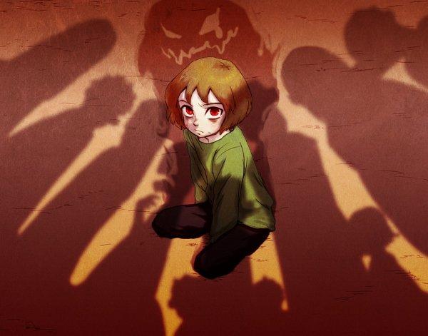 Tags: Anime, Tenperu Tapio, Undertale, Chara (Undertale)