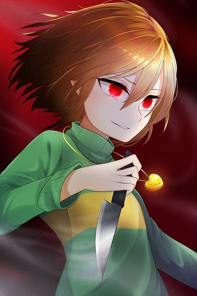 Tags: Anime, Pixiv Id 24070692, Undertale, Chara (Undertale)