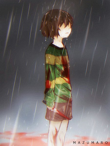 Tags: Anime, Mazumaro, Undertale, Chara (Undertale)