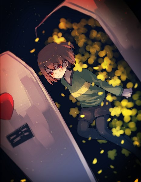 Tags: Anime, Mizushii, Undertale, Chara (Undertale)