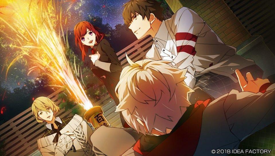 Tags: Anime, Teita, IDEA FACTORY, Otomate, Charade Maniacs, Dazai Mei, Akase Kyoya, Chigasaki Mamoru, Sena Hiyori, CG Art, Official Art