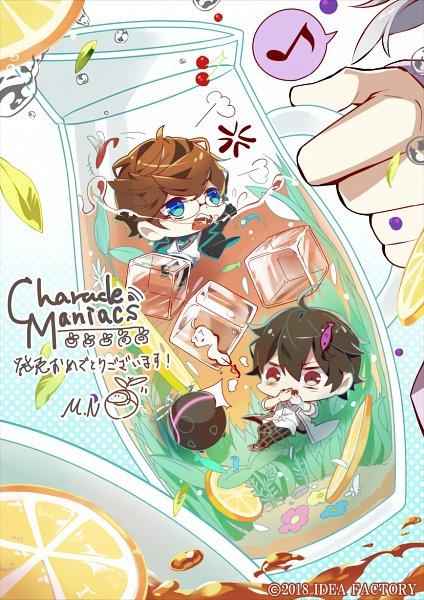 Tags: Anime, Otomate, IDEA FACTORY, Charade Maniacs, Dazai Mei, Ebana Keito, Official Art
