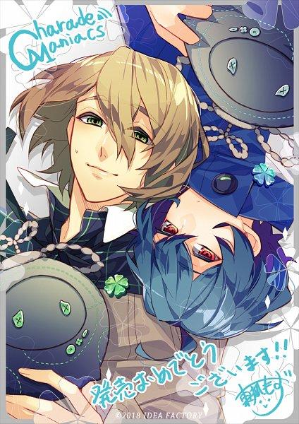 Tags: Anime, Otomate, IDEA FACTORY, Charade Maniacs, Haizi Takumi, Chigasaki Mamoru, Official Art