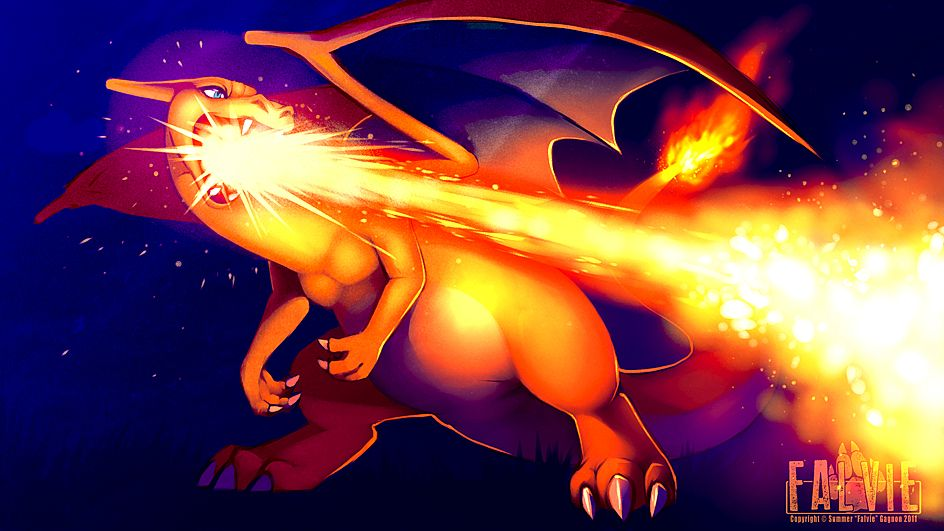 Tags: Anime, Atomicfishbowl, Pokémon, Charizard, Dragon Wings, deviantART, Fanart From DeviantART, Fanart, PNG Conversion, Facebook Cover
