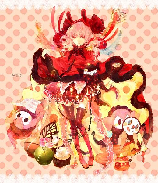 Tags: Anime, Moemoe3345, Mahou Shoujo Madoka☆Magica, Charlotte (Madoka Magica), Pixiv, Original