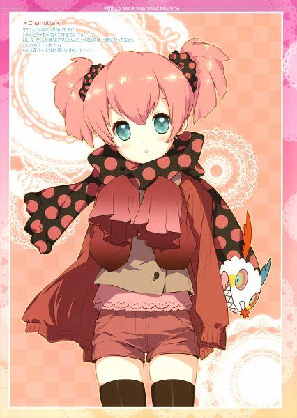 Tags: Anime, D myo, Mahou Shoujo Madoka☆Magica, Charlotte (Madoka Magica), Scan, Mobile Wallpaper