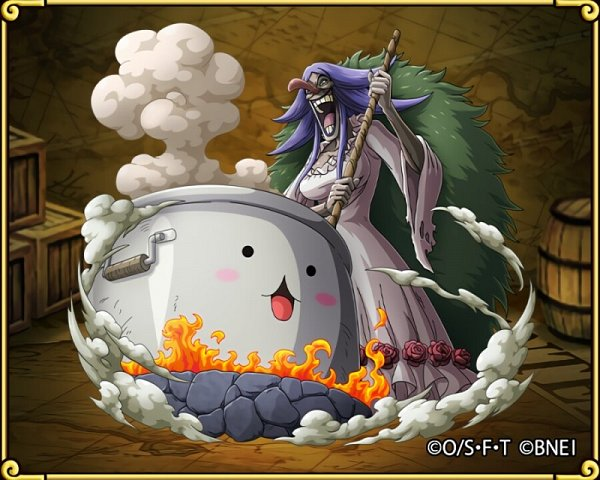Tags: Anime, ONE PIECE, ONE PIECE: Treasure Cruise, Charlotte Brulee, Cooking Pot