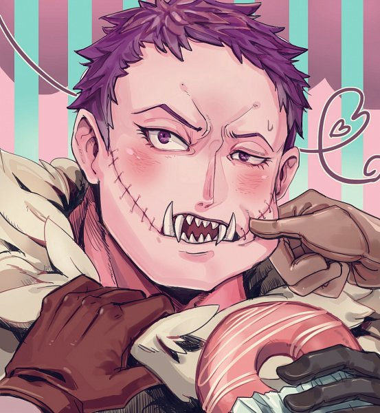 Tags: Anime, Living (songtalk33), ONE PIECE, Charlotte Katakuri, One Piece: Two Years Later, Pixiv, Fanart, Fanart From Pixiv