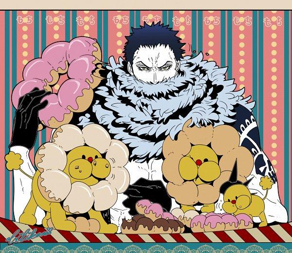 Tags: Anime, Pixiv Id 538824, ONE PIECE, Charlotte Katakuri, Fanart, Fanart From Pixiv, One Piece: Two Years Later, Pixiv