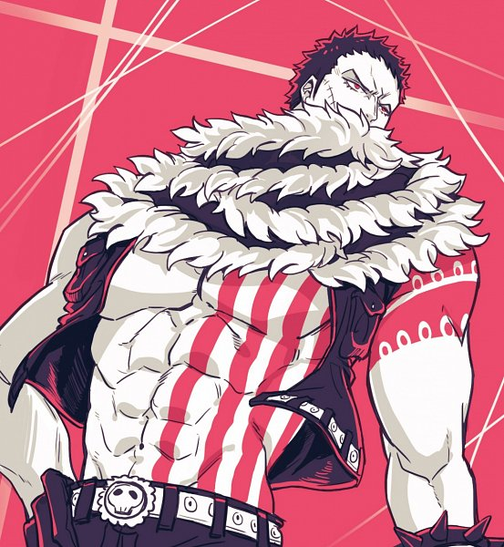 Tags: Anime, Living (songtalk33), ONE PIECE, Charlotte Katakuri, Spiked Bracelet, Fanart From Pixiv, One Piece: Two Years Later, Pixiv, Twitter, Fanart