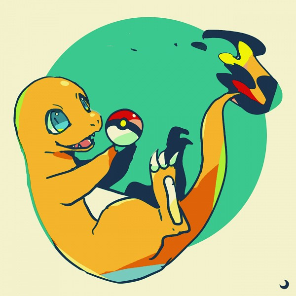 Tags: Anime, Pixiv Id 406584, Pokémon, Charmander, Pixiv, Fanart From Pixiv, Fanart, PNG Conversion