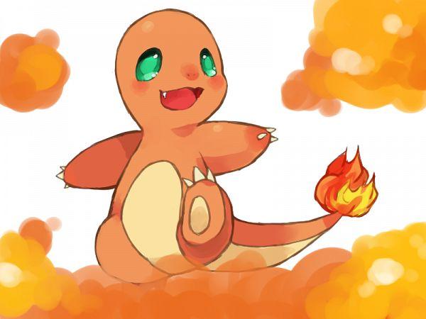 Tags: Anime, Puddingpudding, Pokémon, Charmander, Wallpaper, Fanart From Pixiv, Fanart, Pixiv