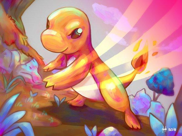 Tags: Anime, Pixiv Id 41627019, Pokémon Red & Green, Pokémon, Charmander, Pixiv, Fanart, Fanart From Pixiv
