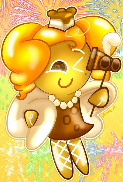 Tags: Anime, Jennalt-01angel, Cookie Run, Cheesecake Cookie, Brown Dress, Fanart From DeviantART, deviantART, Fanart