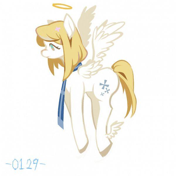 Tags: Anime, Gray Garden, Chelan, My Little Pony (Parody), Pixiv Id 8137677, Pixiv, Fanart, Fanart From Pixiv