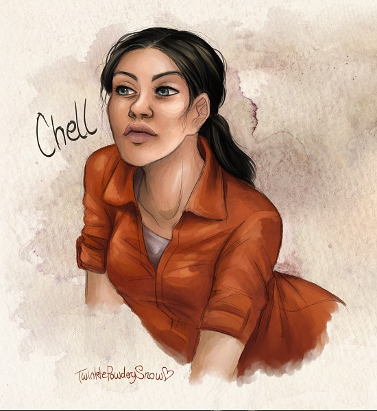 Tags: Anime, TwinklePowderySnow, Portal (Game), Chell, Jumpsuit