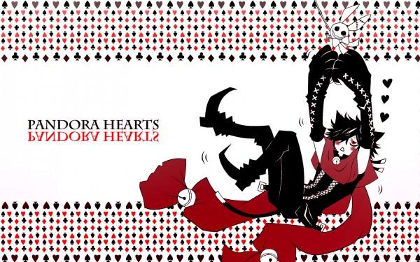 Tags: Anime, SQUARE ENIX, Pandora Hearts, Cheshire Cat, Cheshire Cat (Pandora Hearts), Clubs (Card), Spade (Card), 1680x1050 Wallpaper, Wallpaper