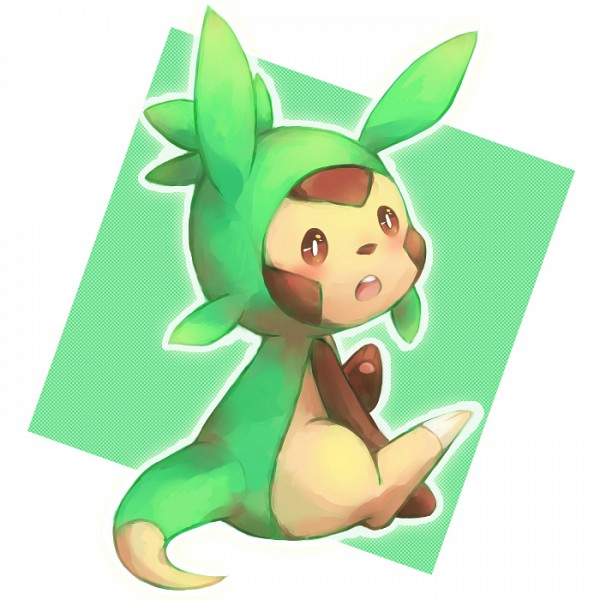 Tags: Anime, Pixiv Id 1065299, Pokémon, Chespin, Fanart From Pixiv, Pixiv, Fanart
