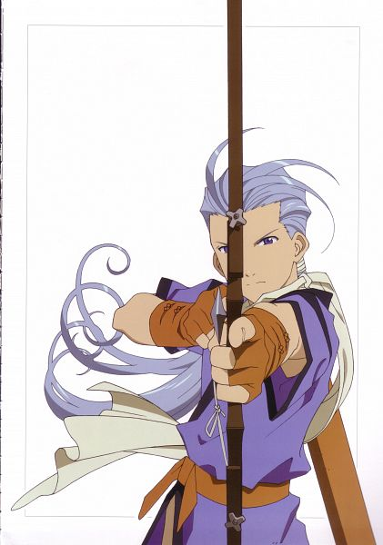 Tags: Anime, Tales of Phantasia, Scan, Official Art
