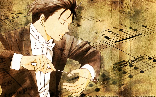Tags: Anime, Nodame Cantabile, Chiaki Shinichi, Baton (Instrument), Conducting, Wallpaper