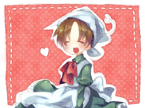 Tags: Anime, Axis Powers: Hetalia, Chibitalia, North Italy, Fanart, Pixiv, Mediterranean Countries, Axis Power Countries
