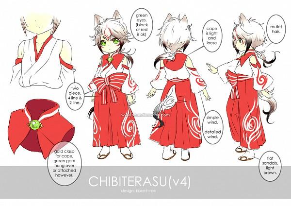 Tags: Anime, Kaze-hime, Okami, Okami Den, Chibiterasu, Pixiv