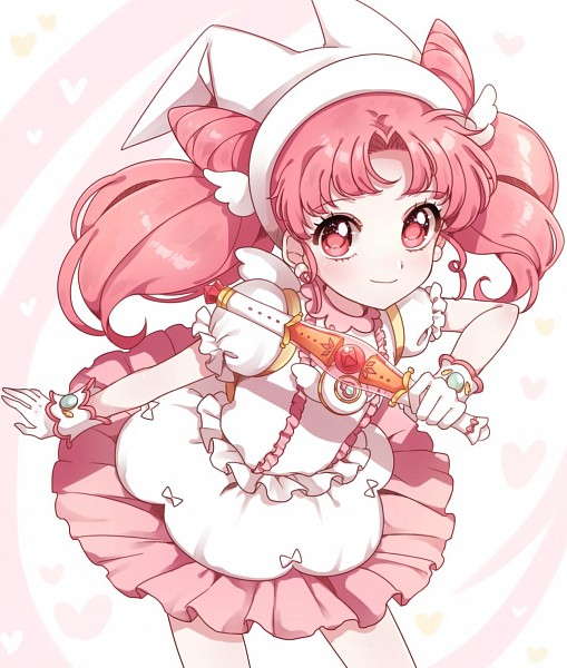 Tags: Anime, Pixiv Id 14568789, Ojamajo DoReMi, Bishoujo Senshi Sailor Moon, Chibiusa, Makihatayama Hana (Cosplay), Jewelry Poron, Fanart From Pixiv, Fanart, Pixiv