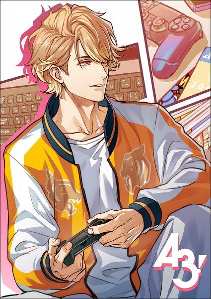 Tags: Anime, Pixiv Id 909965, A3!, Chigasaki Itaru, Playstation, Lofter