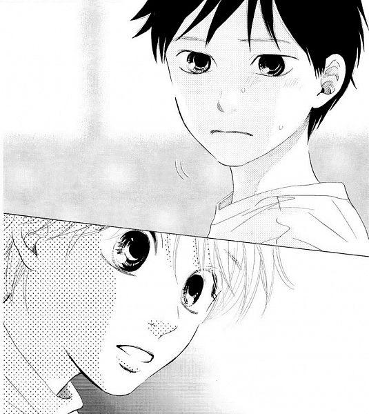 Tags: Anime, Suetsugu Yuki, Chihayafuru, Wataya Arata, Mashima Taichi, Manga Page, Scan, Official Art