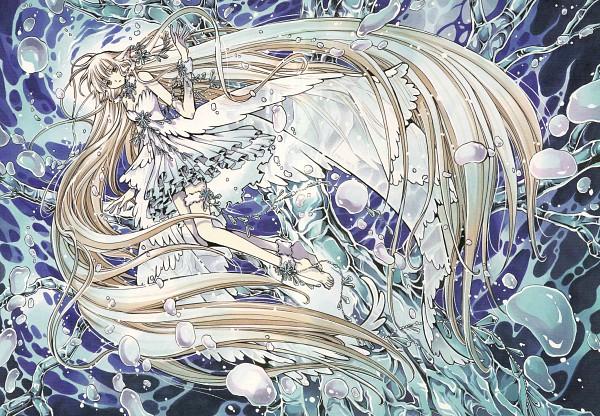 Tags: Anime, CLAMP, Tsubasa: RESERVoir CHRoNiCLE, Tsubasa Album de Reproductions, Chii (TRC), Scan, Official Art