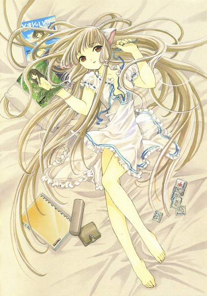 Tags: Anime, CLAMP, Chobits, Your Eyes Only, Chii, Condom, Mobile Wallpaper, Official Art