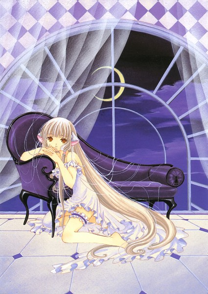 Tags: Anime, CLAMP, Chobits, Your Eyes Only, Chii, Chobits Calendar Collection, Scan, Mobile Wallpaper, Calendar (Source), Official Art