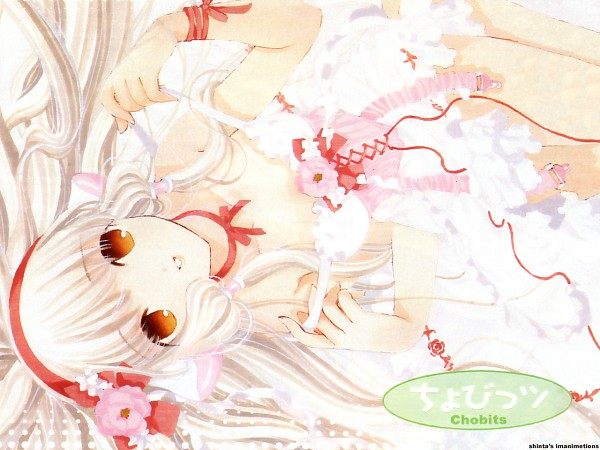 Tags: Anime, CLAMP, Chobits, Your Eyes Only, Chii, Official Art, Wallpaper