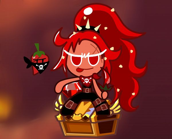 Tags: Anime, Pixiv Id 4156578, Cookie Run: OvenBreak, Cookie Run, Chili Pepper Cookie, Thief, Red Skin, Pixiv, Fanart, Fanart From Pixiv