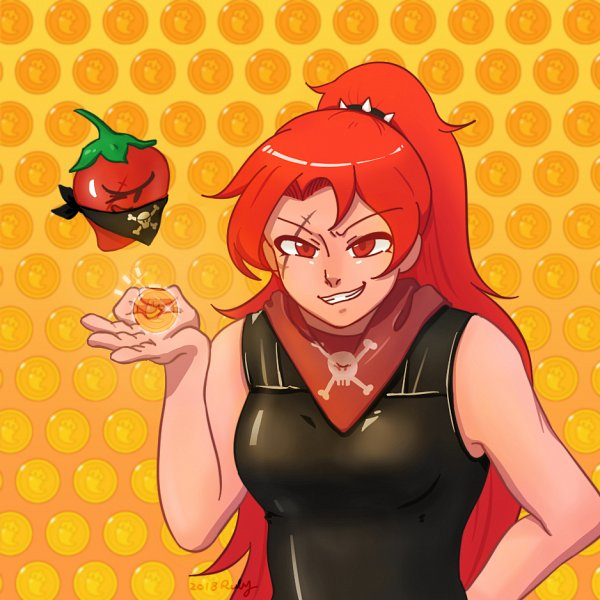 Tags: Anime, Pixiv Id 4680805, Cookie Run: OvenBreak, Cookie Run, Chili Pepper Cookie, Thief, Fanart From Pixiv, Pixiv, Fanart