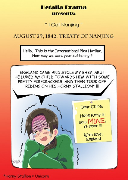 Tags: Anime, Khakipants12, Axis Powers: Hetalia, China, Trembling, Fanart, deviantART, Mobile Wallpaper