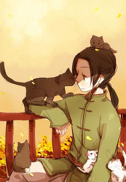 Tags: Anime, Neko Manjuu, Axis Powers: Hetalia, Chinacat, China, Koreacat, Hong Kong, South Korea, Taiwancat, Japan, Japancat, Taiwan, Tangzhuang