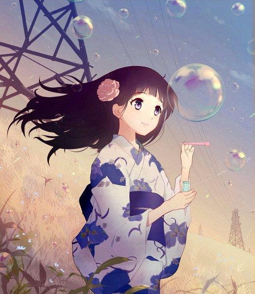 Tags: Anime, Pixiv Id 10527490, Hyouka, Chitanda Eru