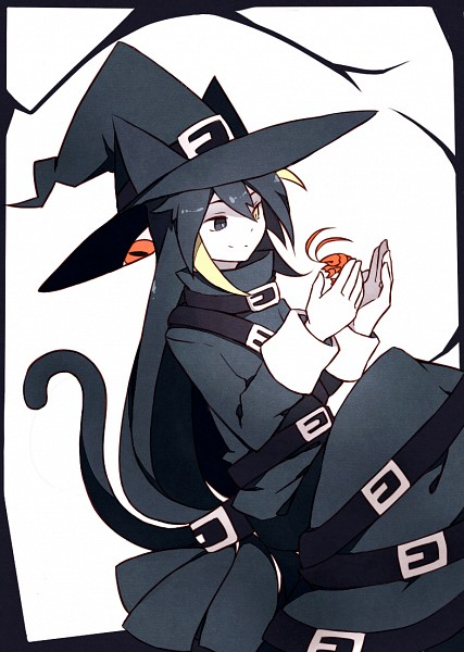 Tags: Anime, Pixiv Id 4034890, Oounabara to Wadanohara, Chlomaki, Lobster, Animal on Hand, Fanart, Mobile Wallpaper, Fanart From Pixiv, Pixiv
