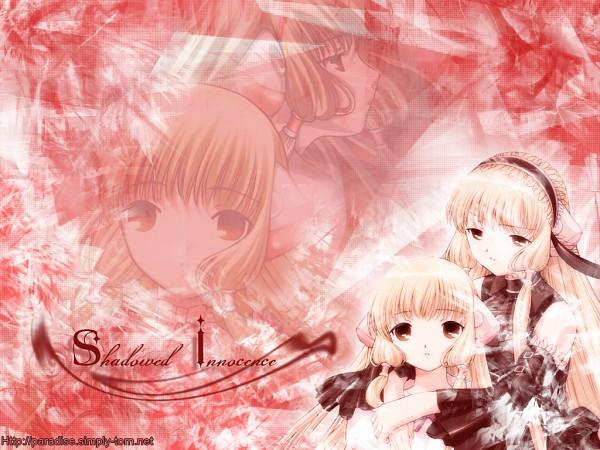 Tags: Anime, Chobits, Chii, Freya (Chobits), Wallpaper, Fanmade Wallpaper, Edited
