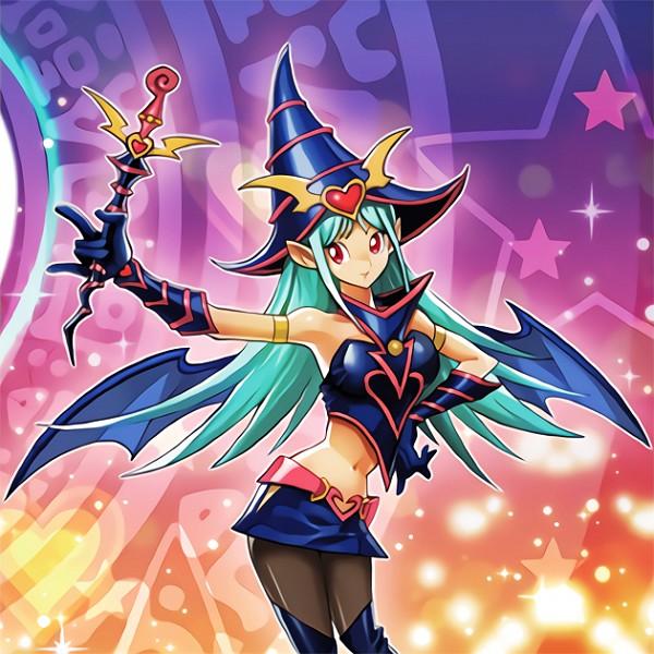 Choco Magician Girl (Chocolate Magician Girl) - Yu-Gi-Oh!